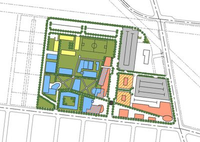 LACCD Proposed South Gate Campus Master Plan